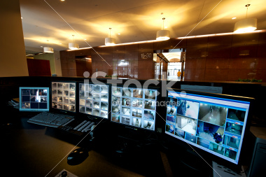 security-monitors-in-office-building